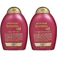 Ogx Anti Breakage Keratin Oil Shampoo & Conditioner (13 Ounces)
