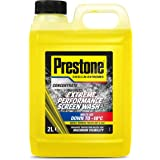Prestone PSCW0026A Extreme Performance Screen Wash, Yellow, 2 Litre