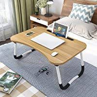 LAXIFY Generic Multipurpose Laptop Table with Dock Stand & Non-Slip Legs Foldable and Portable Lapdesk for Study & Bed