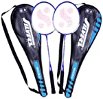 Silver's Micro Badminton Racquets - 2 Racquets with cover