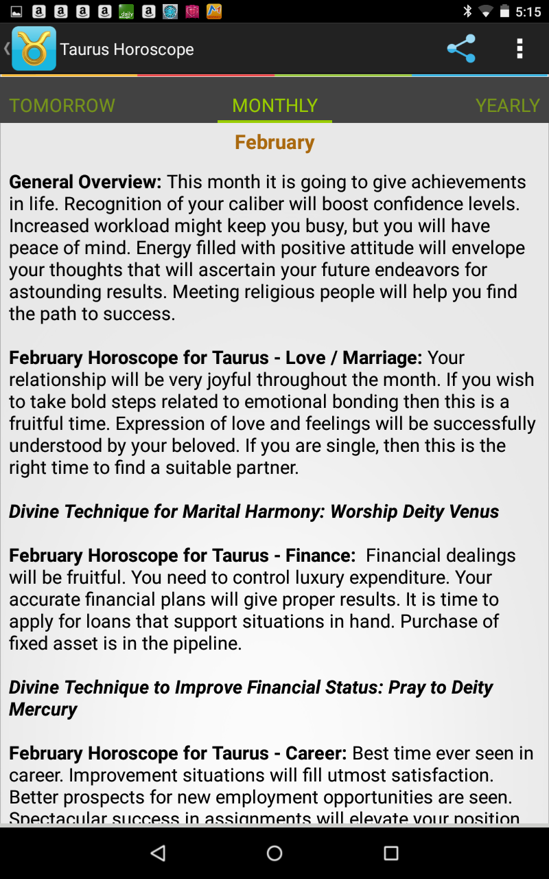 Taurus Monthly Love And Relationship Horoscope
