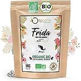 ORIGEENS CAFE GRAIN BIO 1kg   Café en Grain Arabica   Frida - Single Origin Mexique   Torréfaction Artisanale