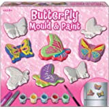 Kreative Kids TY0068 Butterfly Mould and Paint Set in Colour Box