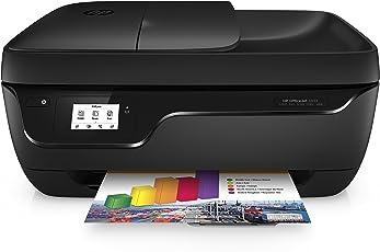 HP OfficeJet 3833 Multifunktionsdrucker (Instant Ink, Drucker, Kopierer, Scanner, Fax, WLAN, Airprint) mit 4 Probemonaten Instant Ink Inklusive
