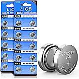 LiCB SR927SW - 20 pile a bottone 395 AG7, LR927 399 V395, 1,5 V, batterie per orologio