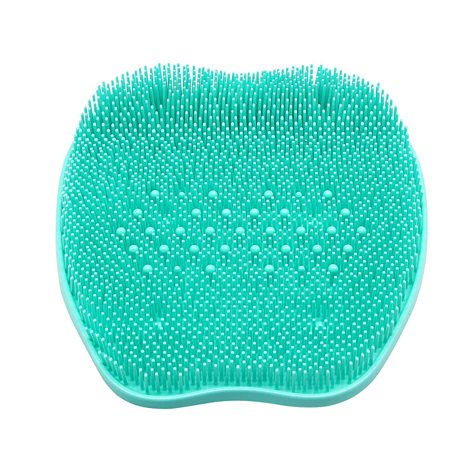 BeHomeArmor Foot Cleaning Scrubbers for Shower – Rubber Massager Mat for Sole of the Foot – Improve Foot Circulation