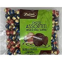 Zaini - Ovetti Pasqua di Cioccolato Ripieni di Crema Gianduia - Senza Olio di Palma - 1 Kg (Assortiti)