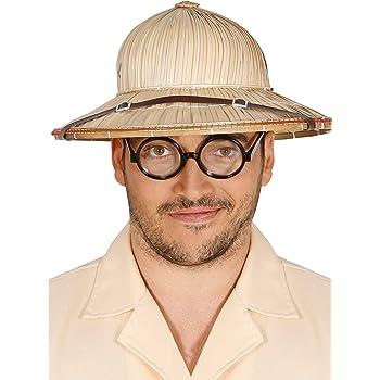 Guirca Salacot Cappello di Paglia da Esploratore Adulto a61a969e0b7f