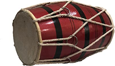"Talking Drums Baby Dholak Of 8"" Size"