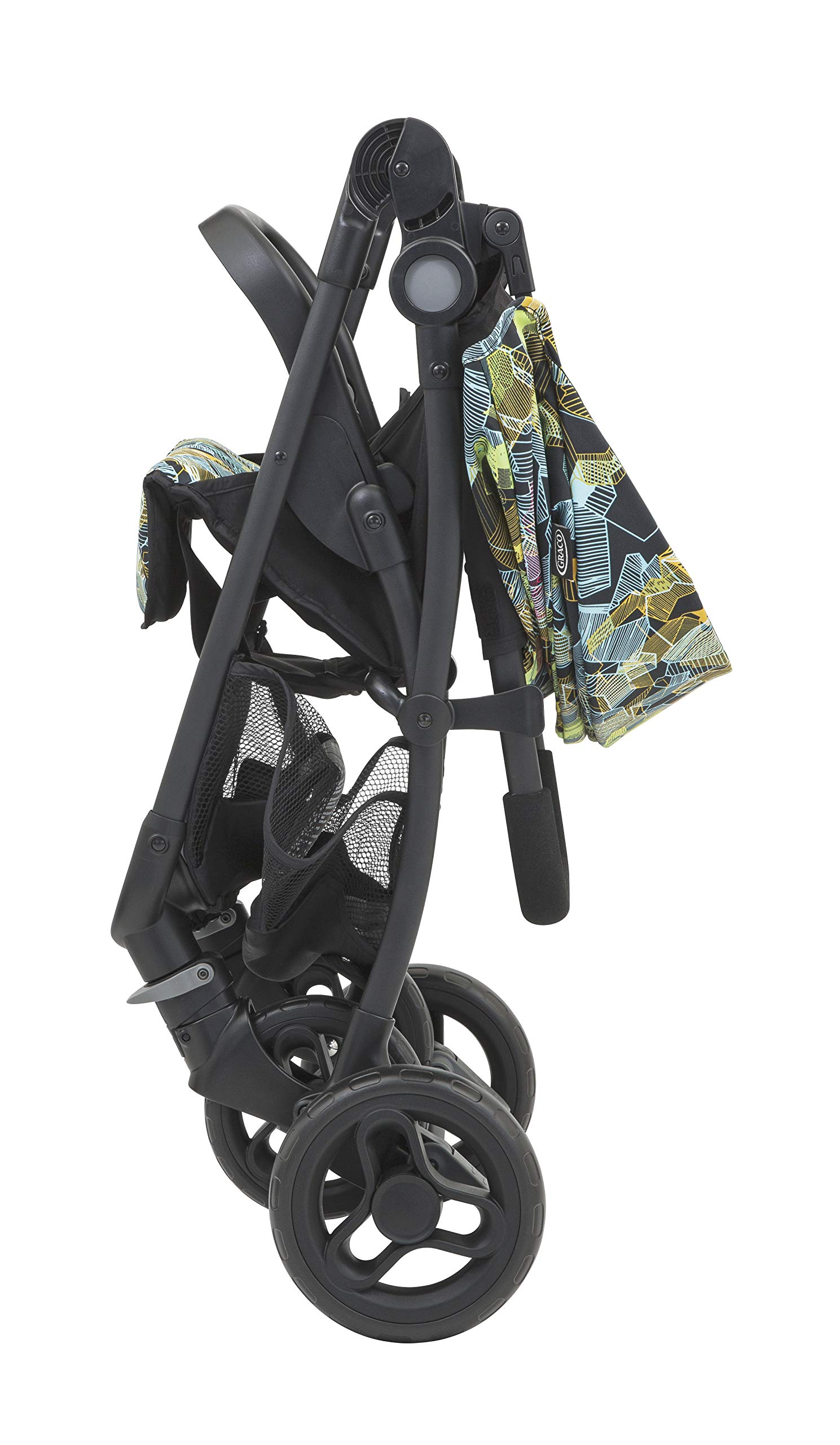 Graco Breaze Lite Stroller, Kaleidoscope Graco From birth to 3 years approx. (0-15kg) Lightweight at only 6.5kg Click connect travel system compatible with graco snugride/snugessentials isize infant car seats 5
