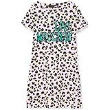 Love Moschino Dress_Allover Animalier&Logo Print Vestido para Mujer