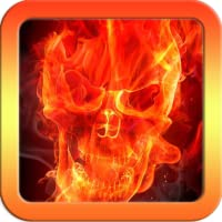 Fire Skull Keyboard Theme Free Themes Backgrounds Wallpapers Icons Decor Customization