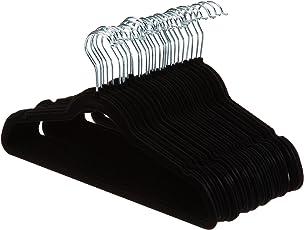 AmazonBasics Velvet Suit Hangers - Black