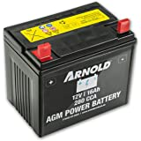 Arnold accu AGM 12 V 16 Ah 280 CCA voor zitmaaier AZ100