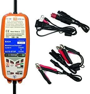 Baas Mobiaccucharger 12 12v Ba54 Mobiles Dc Elektronik
