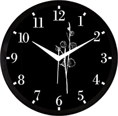 IT2M 11.75 inch Wall Clock for Home/Living Room (9197)