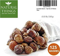 Natural Things Eco Friendly Organic Natural Detergent Soap Nuts / Soap Berries - 125 Washes