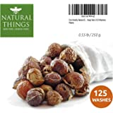 Detergente ecologico biologico naturale – Sapone/Lavastoviglie – Sapone/Bacche di sapone (125 carichi). Qualità premium + sacchetto di lavaggio