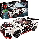 LEGO SpeedChampions NissanGT-RNISMO, Giocattolo Ispirato alle Corsecon Minifigura del Pilota, Set da Costruzione di Auto