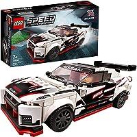 LEGO Speed Champions Nissan GT-R NISMO, Macchina Giocattolo con Minifigure del Pilota, Set da Costruzione di Auto da…