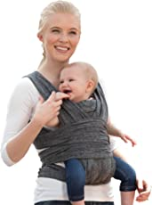 Boppy Comfy Fit Baby Carrier, Heathered Gray, One Size