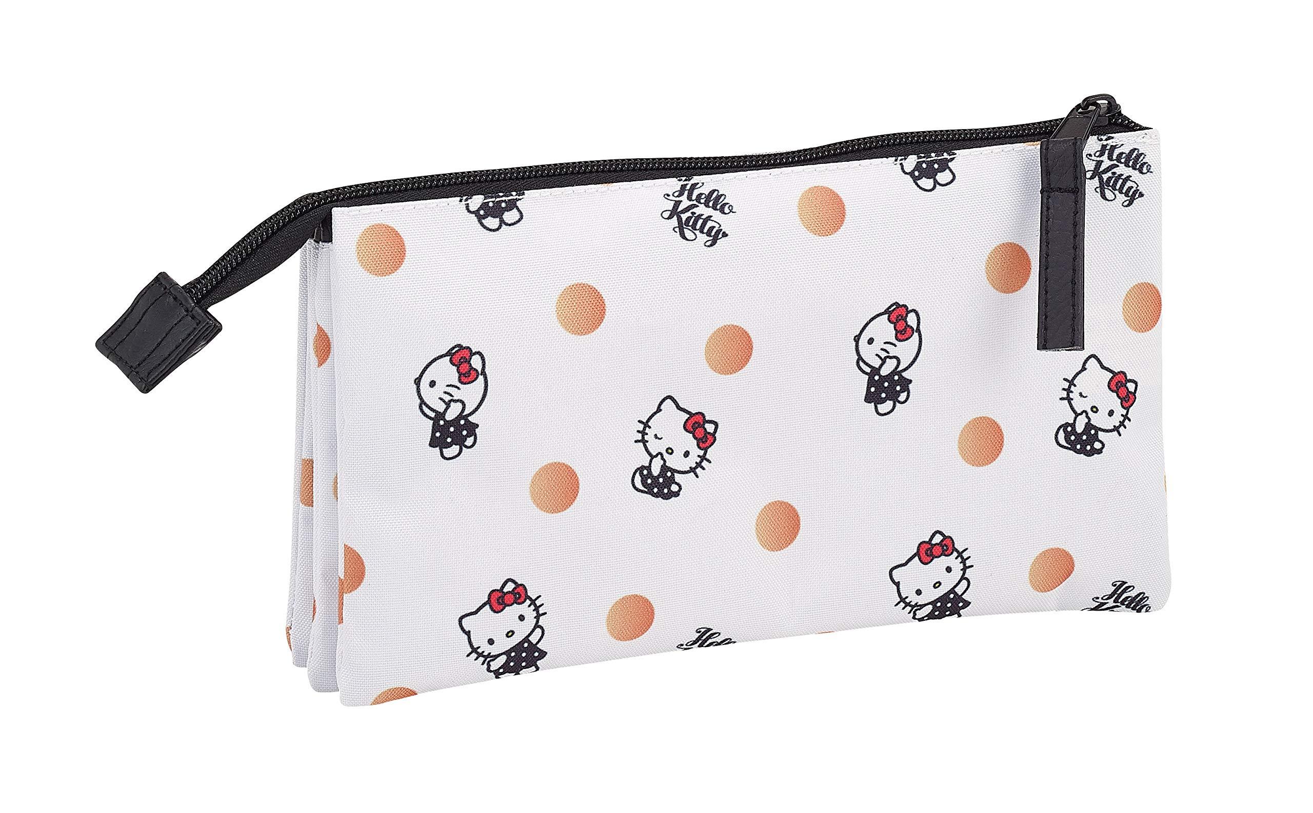 Hello Kitty Estuche portatodo triple escolar