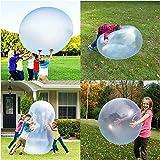 Bubble Ball aufblasbar,Wasserblasen Ball Spielzeug für Erwachsene Kinder Aufblasbarer Wassergefüllte Bälle Strandgarten Reißf