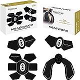 Electroestimulador Muscular Abdominales MEACRUNCH Hombre y Mujer Masajeador Eléctrico Adelgazar Fitness Cinturon Abdomen Glut
