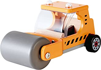Hape - Playscapes - Steam 'N Roll Wooden Toy Vehicle