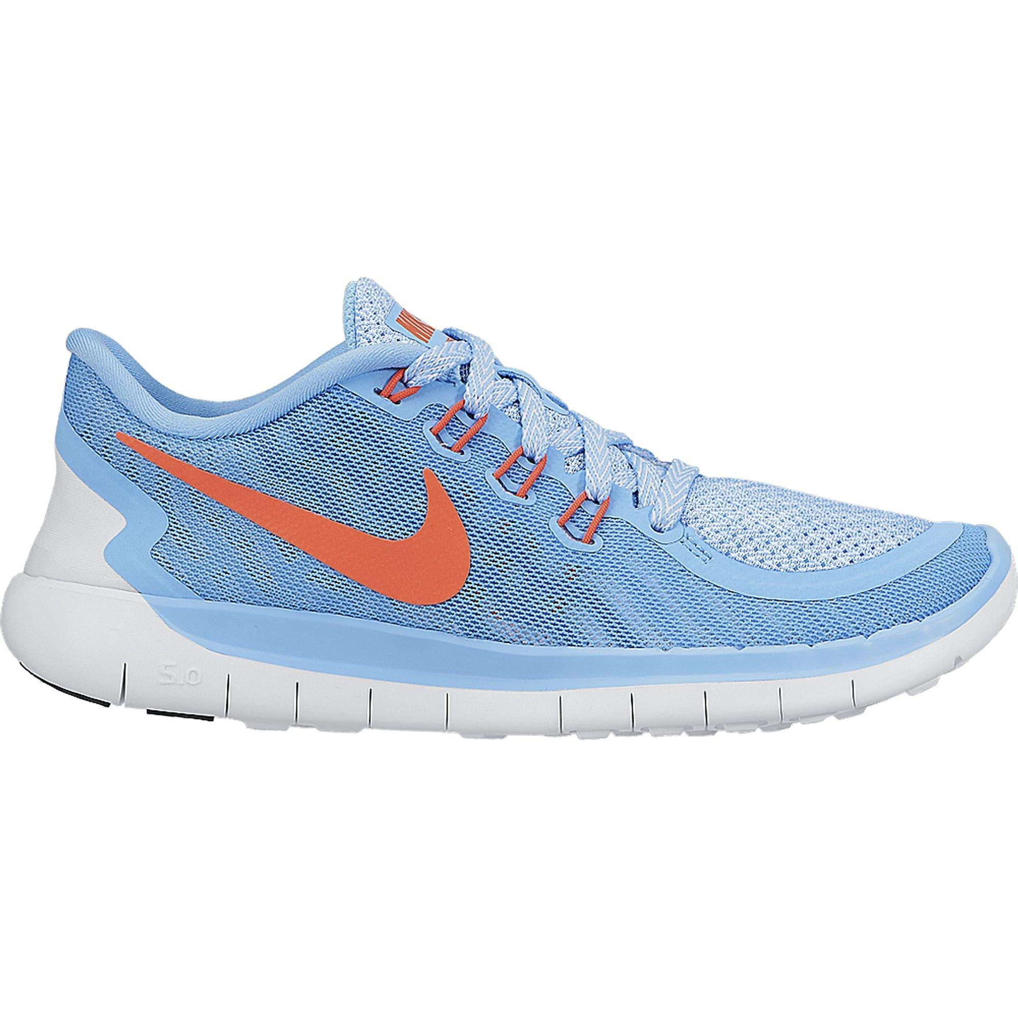 Nike Free 5.0 (GS) Laufschuhe lakeside-bright crimson-blue lagoon- 38 U4aIw