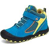 Bambini Scarpe da Escursionismo Ragazzi Ragazze Sneaker Traspiranti Antiscivolo Leggero Trekking Scarpette 24-38