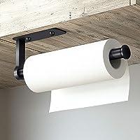 Porte Essuie Tout Auto-Adhésif Supports pour Papier Essuie-Tout en Aluminium Support Essuie Tout Dérouleur Essuie Tout…