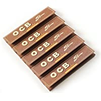 OCB Brown King Size Rolling Paper - Pack of 5