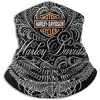 Harley Davidson, sciarpa da collo unisex, protezione dalla polvere, maschera per il viso e lo sci, traspirante, per…