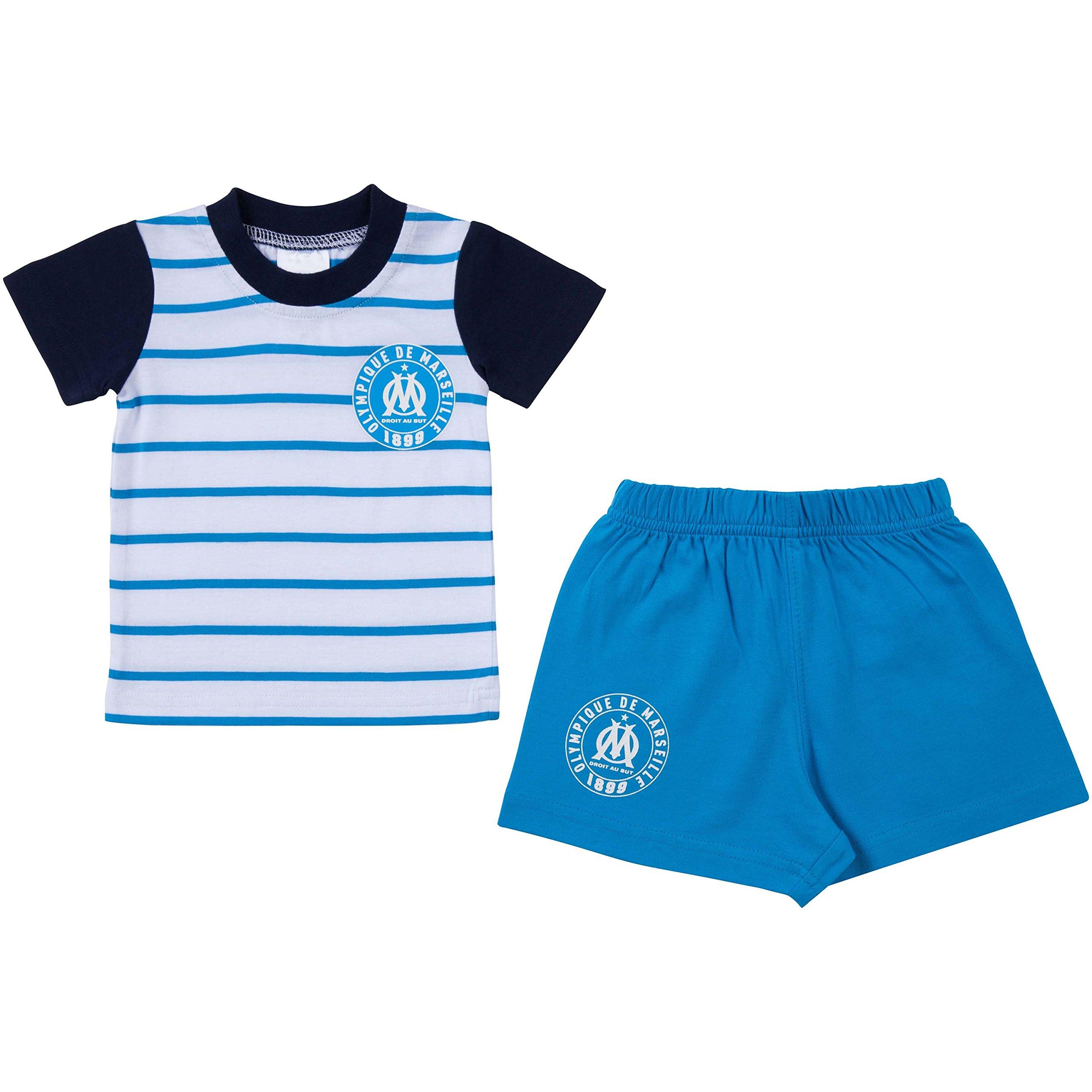 Insieme Bambino Maglietta + Pantaloncini OM���Collezione ufficiale Olympique de Marseille���Dimensio