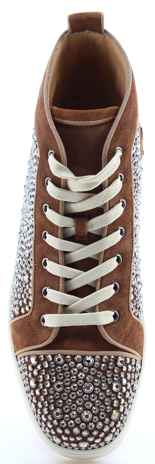 meilleure sélection b7644 7f038 Christian Louboutin Paris Chaussures Homme Sneaker Louis Orlato Flat Indi  Strass