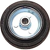 BGS Do it yourself 80959 | massief rubberen wiel | stalen velg | Ø 100 mm