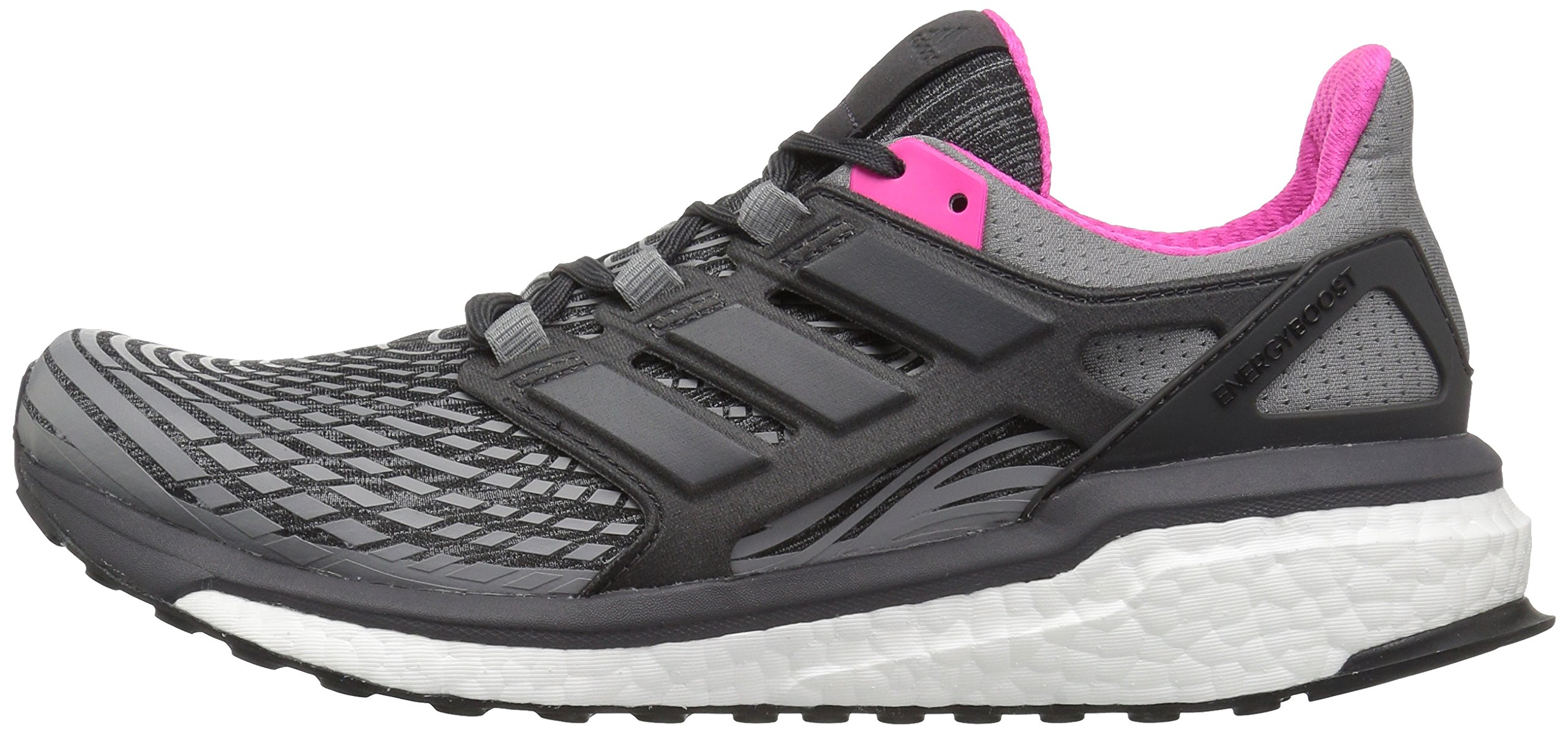 81CMYxwkVUL - adidas Womens Energy Boost Fabric Low Top Lace Up Running Sneaker