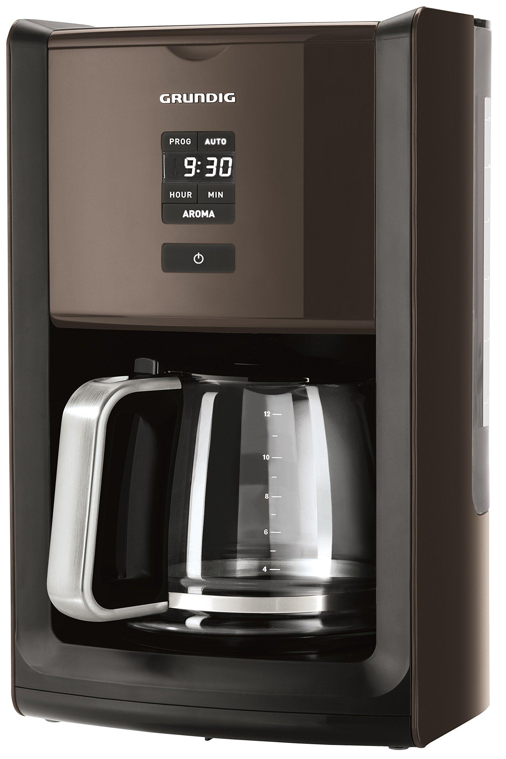 Grundig-KM-7280w-Kaffeemaschine-programmierbarGourmet-1000-Watt-18-l