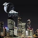 City At Night Widget Meteo