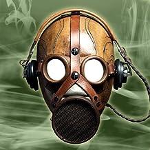 Máscara de gas Montaje de la foto