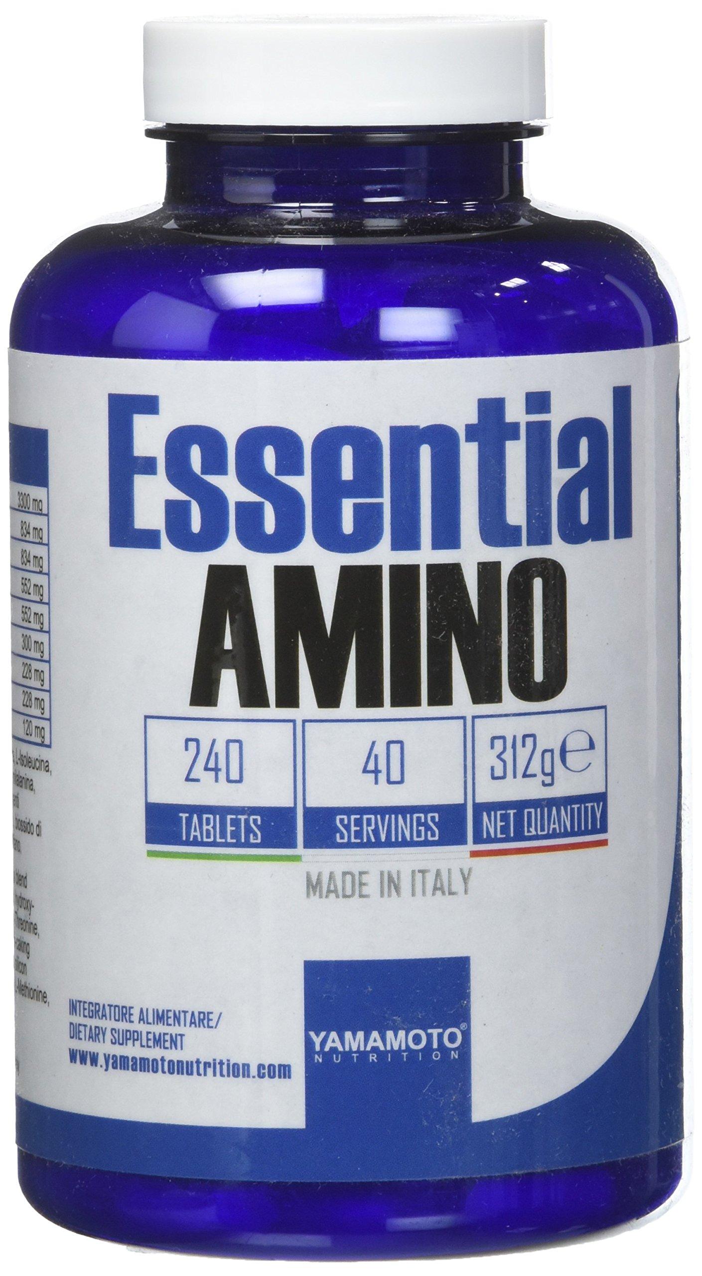 Yamamoto Nutrition Essential AMINO integratore di aminoacidi essenziali 240 compresse 1 spesavip
