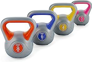 York Fitness Vinyl Kettlebell
