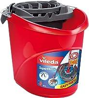 Vileda SuperMocio emmer met powerpers voor optimaal uitwringen