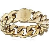 خواتم مصنوعة من ستيل مطلي بالذهب الايوني للنساء من تومي هيلفيجر - 2700967B