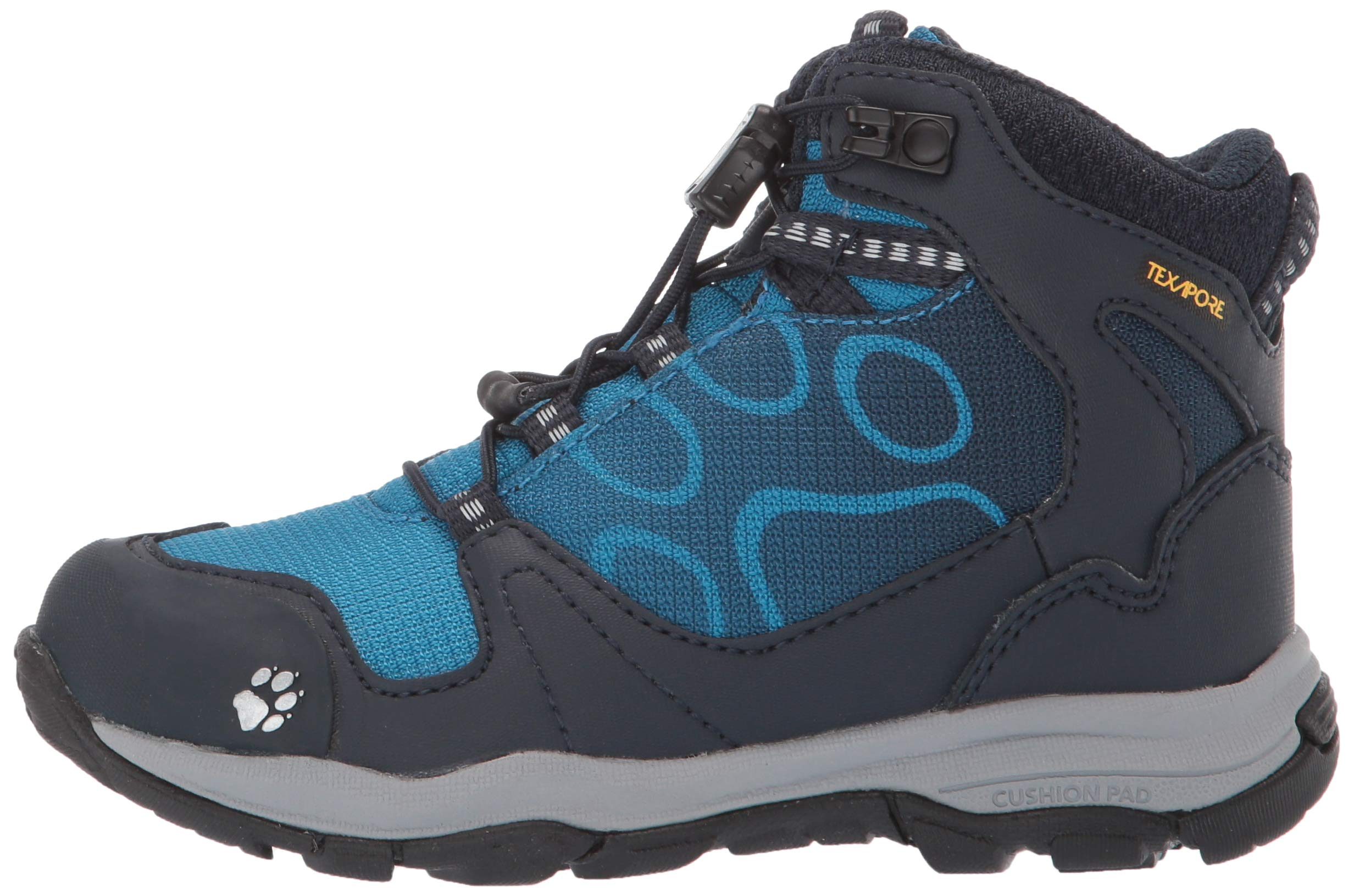 Jack Wolfskin Boys Akka Texapore Mid B Wasserdicht High Rise Hiking Shoes, One Size 5