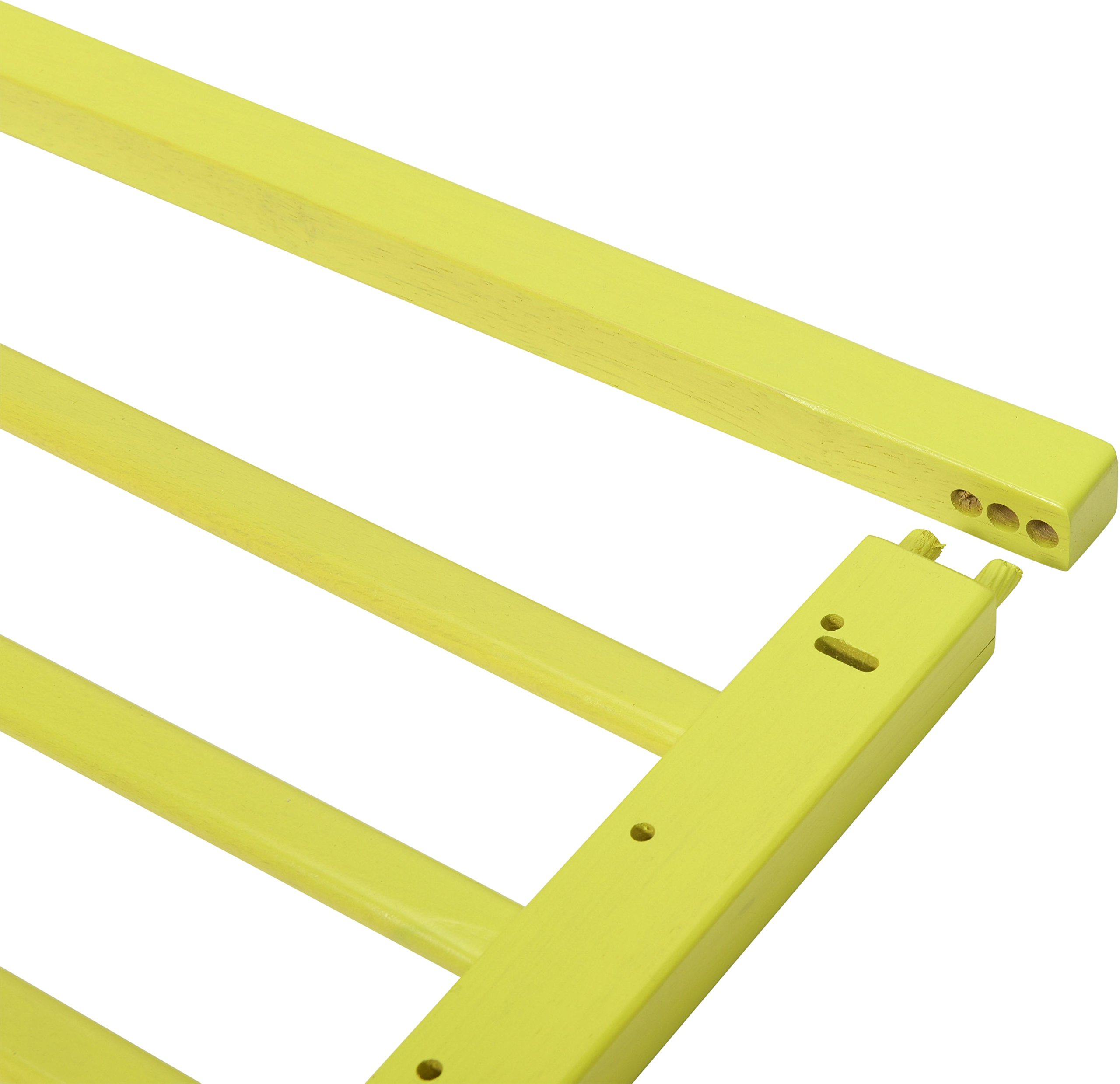 Badabulle Color Pop Safety Gate, Yellow Badabulle Mountable in just 7 minutes Easy to open Swinging door 4