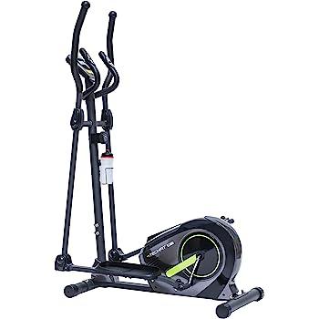 TechFit E380 Cross Trainer, Bicicleta elíptica para el hogar, Máquina de Cardio para Ejercicios de Fitness, Dispositivo de Resistencia magnética Apta para ...