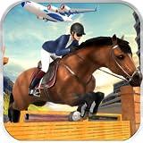 Avion de fret Transport de chevaux Zoo Animal Avion Pilote Transport Simulator 3D: Transport d'animaux sauvages Avion Cargo Jeux de simulateur Gratuit pour les enfants 2018...