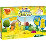 Craze 53158 - Magic Sand Bauernhof-Set., ca. 800g Sand